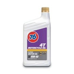 76 4T Motorcycle Oil 10W-40